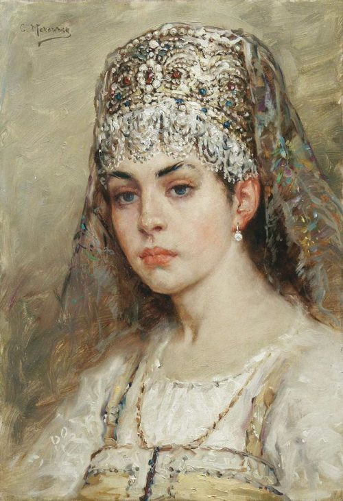 Konstantin Makovsky. Vasilisa the Wise