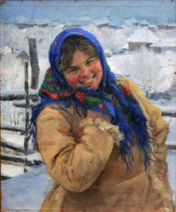 Russian artist Fedot Sychkov