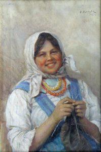 Nastya knitting 1925