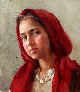 Russian artist Natalia Milashevich