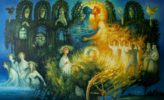 Artist Vladimir Golub. Midsummer night. 2007