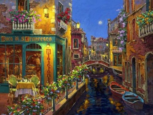 Buca Francesco. Painting by Viktor Shvaiko