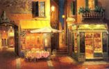 Evening in Verona. Painting by Viktor Shvaiko