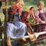 'Girlfriends', 1916.