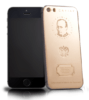 Golden iPhones with Putin