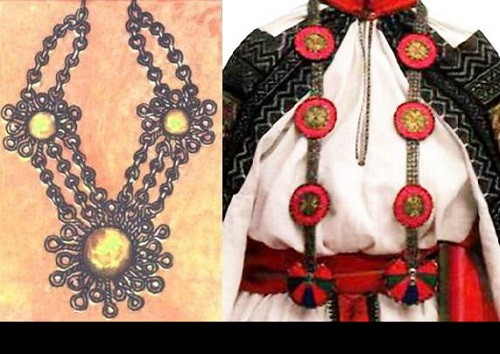 Gribatka – Traditional jewelry in ancient Russia