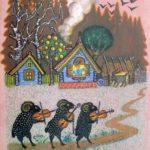 Soviet Russian artist Yuri Vasnetsov