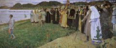 In Russia (Soul of People). Saint Russia by Mikhail Nesterov