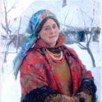'Molodukha' (Young woman), 1928. Artist Fedot Sychkov