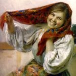 'Peasant Girl'.