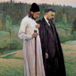 Saint Russia by Mikhail Nesterov