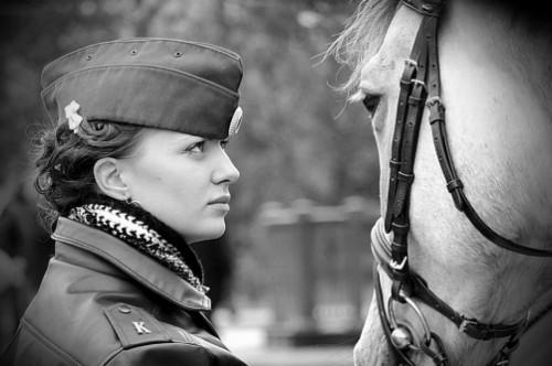 Russian policewomen