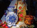 Russian porcelain - Gzhel