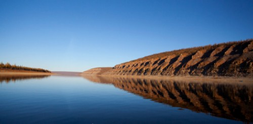 Siberian river Olenyok