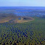 Russian natural phenomenon Great Vasyugan mire