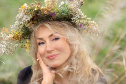 Russian actress Maria Shukshina