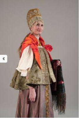 Headband costume. XIX century. Arkhangelsk province.