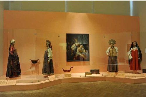 Collection of folk costumes in the State Russian Museum