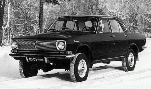 Collection of Leonid Brezhnev. Cars of Soviet and Russian leaders
