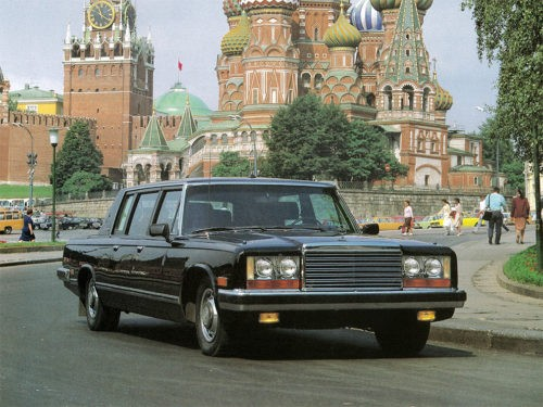 Limousine by Yuri Andropov. Cars of Soviet and Russian leaders