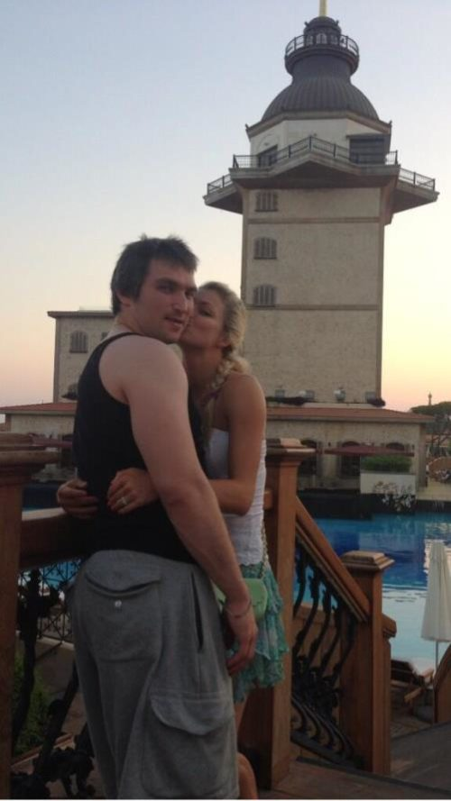 Alex Ovechkin and Maria Kirilenko split