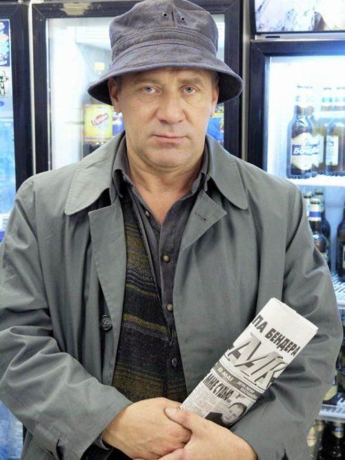 Russian actor Andrei Krasko