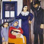 Jewish family. 1912
