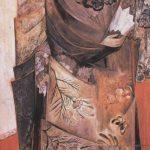 1916 painting Spanish woman