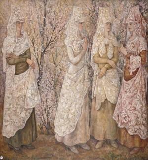 Spring. White Spaniard. 1932. Oil on canvas