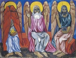 Trinity. Oil on canvas, 1910