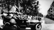 Cars of Soviet and Russian leaders. Russian Emperor Nicholas II in the Crimea