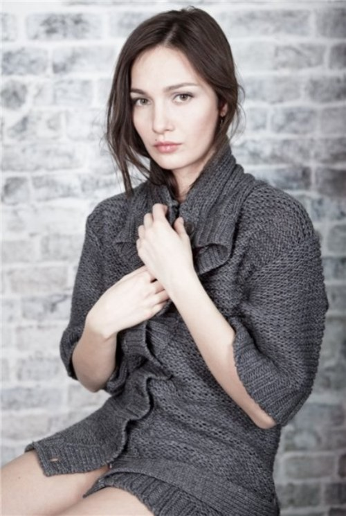 Russian actress Evgeniya Hirivskaya (stage name Evgeniya Brik)