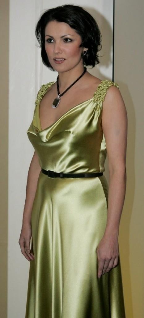 Russian opera singer Anna Netrebko