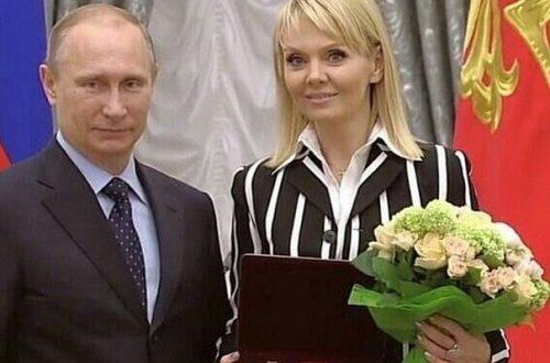 Russian singer Valeria