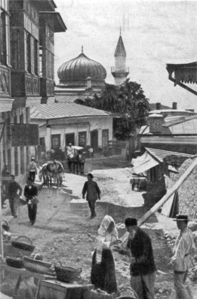 Bazaar in Alupka 1912.