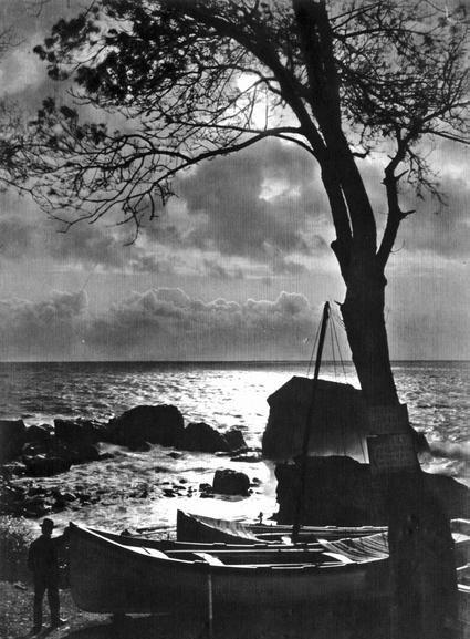 Overnight in Alupka. (Fishing pier) 1905