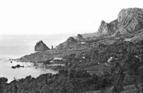 Simeiz. General view of 1905
