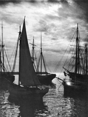 Twilight on the sea. (Yalta) 1905