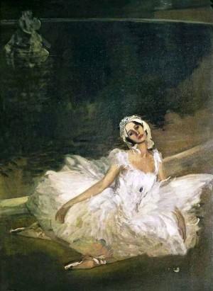 Irish painter Sir John Lavery (1856-1941)