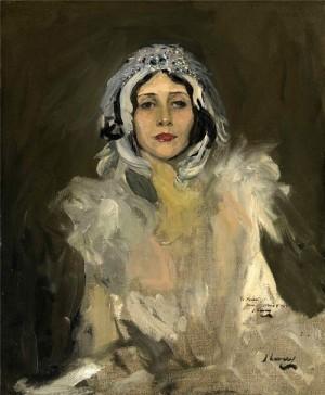Anna Pavlova as The Swan