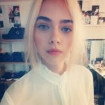 Figaro model Maya Skripchenko