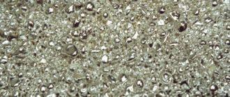 Russian precious metal Ruthenium