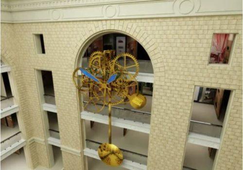 The world largest mechanical clockwork