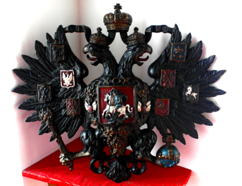 Russian two-headed eagle