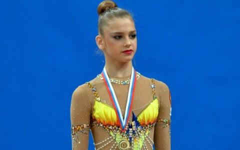 Russian rhythmic gymnast Alexandra Soldatova