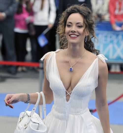 Russian actress and ballerina Sofya Skya Arzhakovskaya