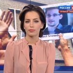 Russia-24 News anchor Tatiana Stolyarova
