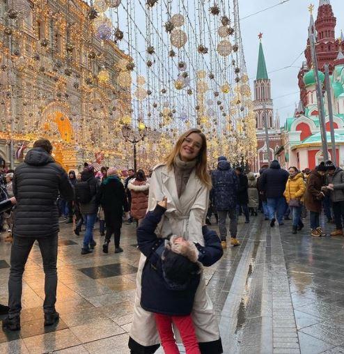 Natalia Vodianova in Russia