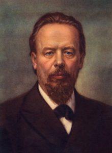 Alexander Stepanovich Popov (March 16 1859 – January 13 1906) - Russian physicist, the inventor of radio