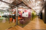 Interior of Moscow Google office
